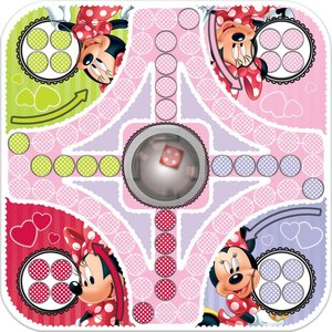 Disney Minnie Mouse - Ludo Pop-it Spiel