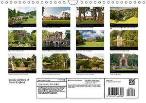 The Lovely Gardens of South England (Wall Calendar 2015 DIN A4 L