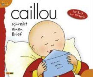 Caillou 07 / schreibt einen Brief