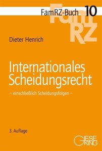 Internationales Scheidungsrecht