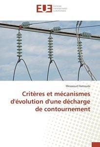 Critères et mécanismes d'évolution d'une décharge de contourneme