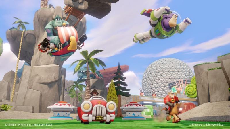 Disney INFINITY - Starter Set XB360 (inkl. 3 Figuren, Portal und - zum Schließen ins Bild klicken