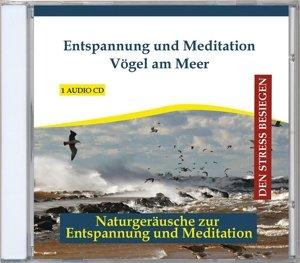 Entspannung und Meditation-Vögel am Meer