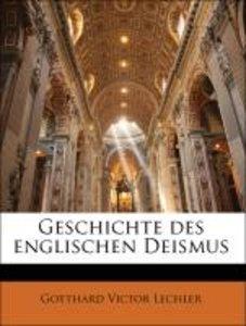 Geschichte des englischen Deismus