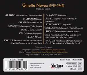 Ginette Neveu-The Complete Studio Recordings