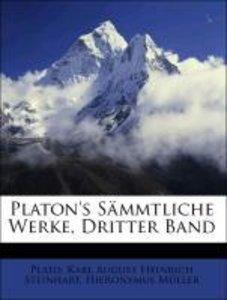 Platon's Sämmtliche Werke, Dritter Band