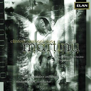 Martinu-for two piano and orchestra
