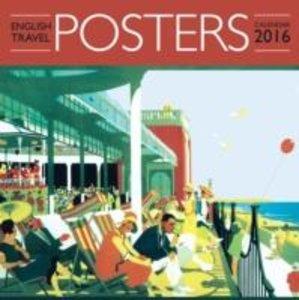 English Travel Posters Wall Calendar 2016 (Art Calendar)