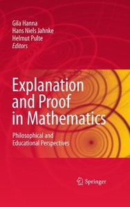 Explanation and Proof in Mathematics