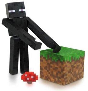 Minecraft 16500 - Enderman, Spielfigur mit Zubehör