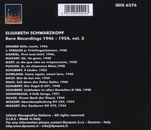 Seltene Aufnahmen 1946-1954 Vol.2