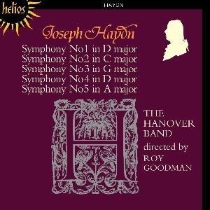 Symphonies Of J. Haydn 1-5