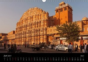 Indien, vom Taj Mahal zur Wüste Thar (Wandkalender 2017 DIN A3 q