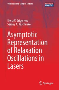 Asymptotic representation of relaxation oscillations in lasers
