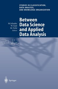 Between Data Science and Applied Data Analysis