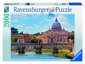 Engelsbrücke in Rom. Puzzle 2000 Teile