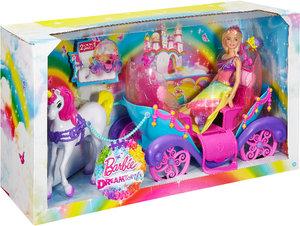Barbie Regenbogenlicht Einhorn & Kutsche
