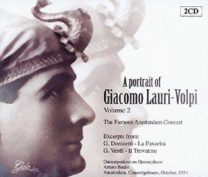 A Portrait Of Lauri-Volpi Vol.2