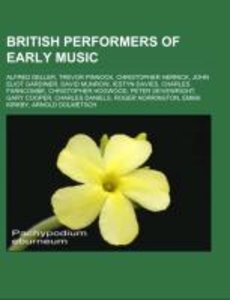 British performers of early music