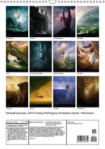 Ethereal Journeys - 2015 Fantasy Paintings by Christophe Vacher