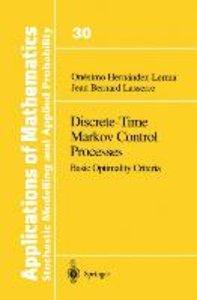 Discrete-Time Markov Control Processes