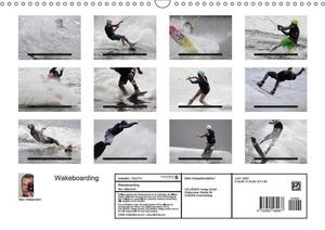 Wakeboarding (Wandkalender 2017 DIN A3 quer)