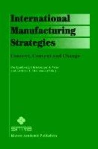 International Manufacturing Strategies