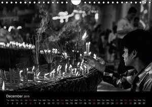 Myanmar - New Impressions in B & W (Wall Calendar 2015 DIN A4 La