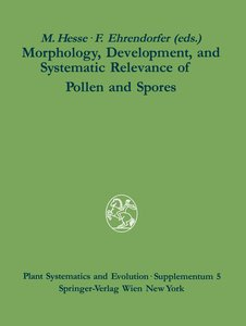Morphology, Development, and Systematic Relevance of Pollen and
