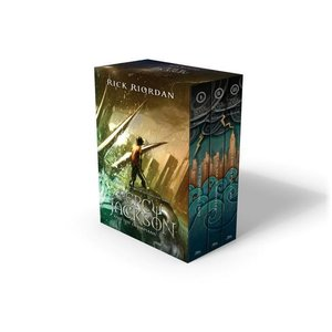 Percy Jackson and the Olympians 1-3 Boxed Set