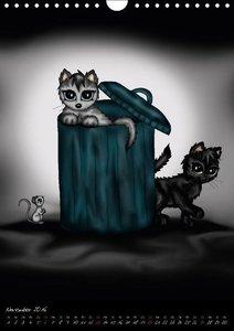 Niedliche Katzen (Wandkalender 2016 DIN A4 hoch)