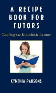 Recipe Book for Tutors