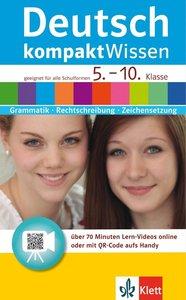 Deutsch kompaktWissen 5. - 10. Klasse