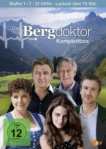 Der Bergdoktor Komplettbox (Staffeln 1-7)