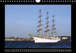 Vollschiffe und Barken 2016 (Wandkalender 2016 DIN A4 quer)
