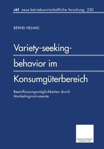 Variety-seeking-behavior im Konsumgüterbereich