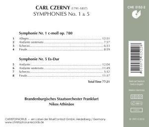 Sinfonien 1 C-moll & 5 Es-Dur
