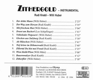 ZITHERGOLD Instrumental