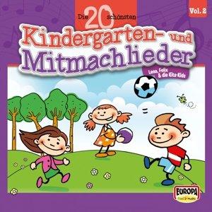 Die 20 schönsten Kindergarten- und Mitmachlieder,