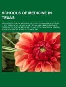 Schools of medicine in Texas