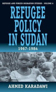 Refugee Policy in Sudan 1967-1984