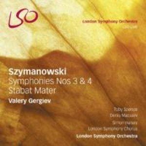 Sinfonien 3 & 4/Stabat Mater
