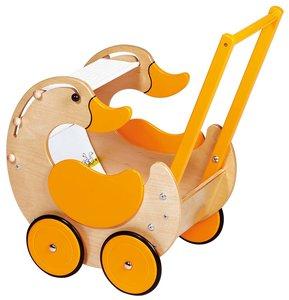 Goki 51858 - Puppenwagen, Holz