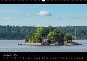 Stockholm und seine Schären (Wandkalender 2016 DIN A2 quer)