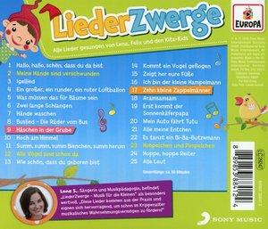 Liederzwerge-Musik für die Kleinen/Kinder-Krip