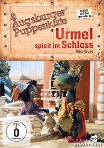 Augsburger Puppenkiste-Urmel spielt im Schloss