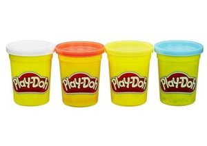 Hasbro B5517EU4 - Play-Doh 4er-Pack, sortiert