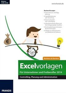 Excelvorlagen für Unternehmer und Freiberufler 2014
