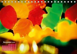 Fruchtgummis und Gummibärchen: Quietschbunt und zuckersüß (Tisch