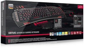 VIRTUIS Advanced Gaming Keyboard, schwarz